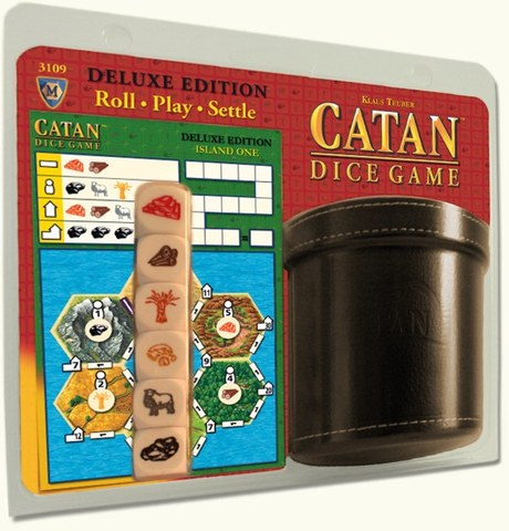Catan Dice Game Deluxe Edition Revised