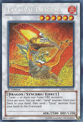 Lavalval Dragun - HA06-EN048 - Secret Rare - 1st Edition