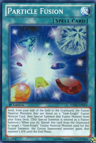 Particle Fusion - HA06-EN055 - Super Rare - 1st Edition