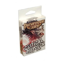 Pathfinder Gamemastery Critical Hit Deck