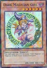 Dark Magician Girl - DT06-EN064 - Super Parallel Rare - Duel Terminal on Channel Fireball