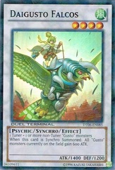 Daigusto Falcos - DT06-EN085 - Super Parallel Rare - Duel Terminal on Channel Fireball