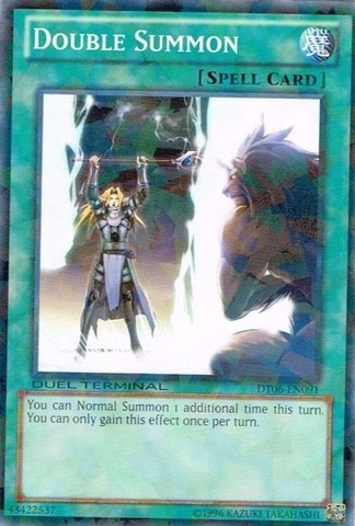 Double Summon - DT06-EN091 - Parallel Rare - Duel Terminal
