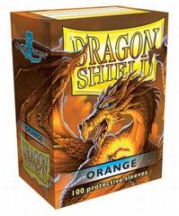 Dragon Shield Large Sleeves Orange (100 ct)