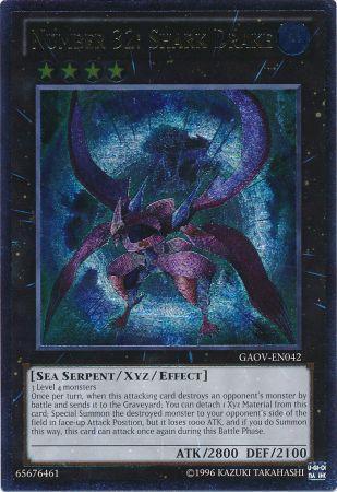 Number 32: Shark Drake - GAOV-EN042 - Ultimate Rare - Unlimited Edition