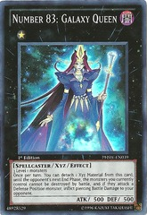 Number 83: Galaxy Queen - PHSW-EN039 - Super Rare - Unlimited Edition