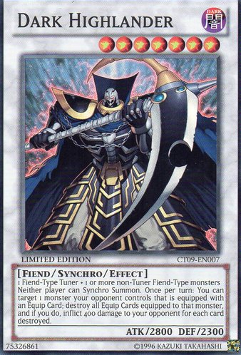 Dark Highlander - CT09-EN007 - Super Rare - Limited Edition - Promo