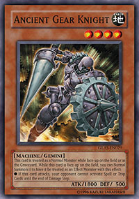 Ancient Gear Knight - GLAS-EN029 - Common - 1st Edition