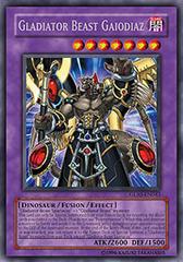 Gladiator Beast Gaiodiaz - GLAS-EN043 - Rare - 1st Edition