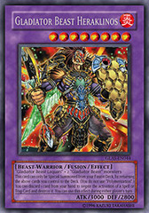 Gladiator Beast Heraklinos - GLAS-EN044 - Secret Rare - 1st Edition