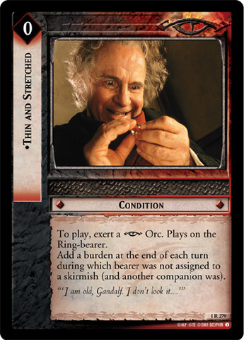 Lord of the Rings TCG Fellowship 1R210 Dark Whispers CCG LOTR