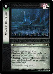 Attack on Helm's Deep - 4C137 - Foil
