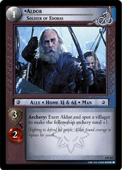Aldor, Soldier of Edoras - 4R262 - Foil