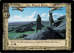 East Wall of Rohan - Foil