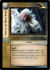 Fury of the White Rider - Foil