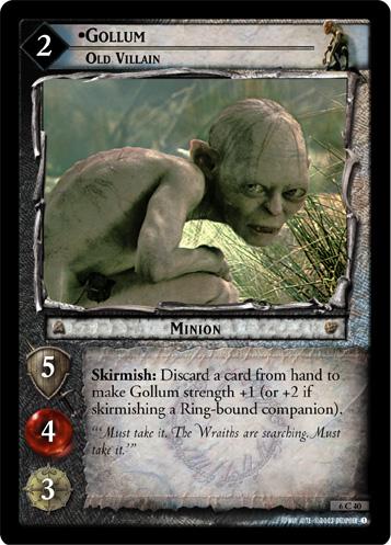 Gollum, Old Villain - Foil