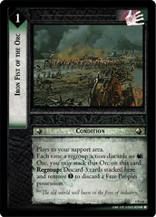 Iron Fist of the Orc - Foil
