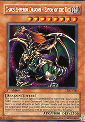 Chaos Emperor Dragon - Envoy of the End - IOC-000 - Secret Rare - 1st Edition