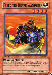 Freed the Brave Wanderer - IOC-014 - Super Rare - 1st Edition