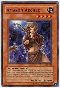 Amazon Archer - LON-032 - Common - 1st Edition
