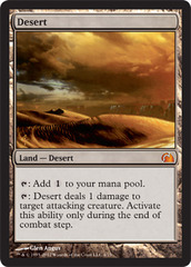 Desert - Foil on Channel Fireball