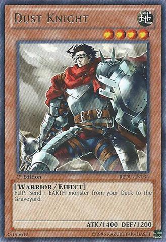 Dust Knight - REDU-EN034 - Rare - 1st Edition