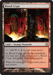 Blood Crypt - Foil on Channel Fireball