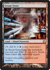Steam Vents - Foil