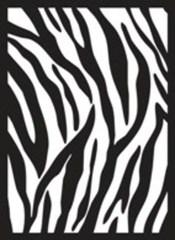 Zebra Skin Legion Standard Size Premium Gaming Card Sleeves (50 Ct)