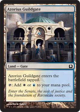 Azorius Guildgate - Foil