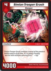 Simian Trooper Grash on Channel Fireball