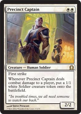 Precinct Captain - Foil