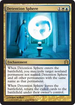 Detention Sphere - Foil