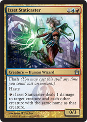 Izzet Staticaster on Channel Fireball