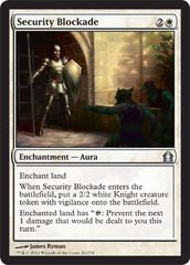 Security Blockade - Foil