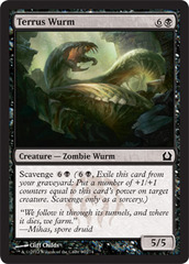 Terrus Wurm - Foil