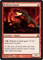 Bellows Lizard - Foil