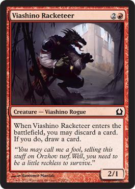 Viashino Racketeer - Foil