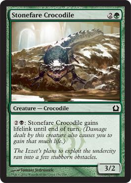Stonefare Crocodile - Foil