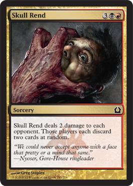 Skull Rend - Foil