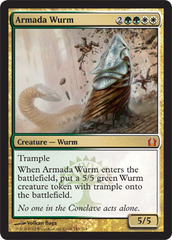 Armada Wurm - Foil on Channel Fireball