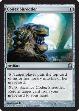 Codex Shredder - Foil