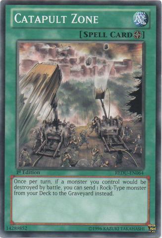 Catapult Zone - REDU-EN064 - Common - Unlimited Edition