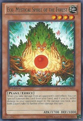 Eco, Mystical Spirit of the Forest - REDU-EN091 - Rare - Unlimited Edition