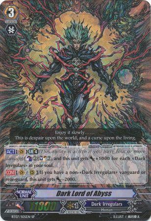 Dark Lord of Abyss - BT07/S05EN - SP