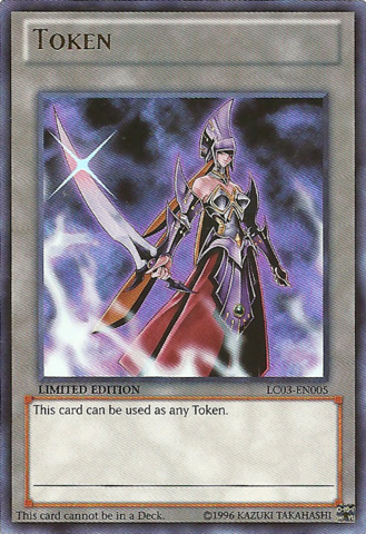 Emissary of Darkness Token - LC03-EN005 - Ultra - Limited Edition - Promo
