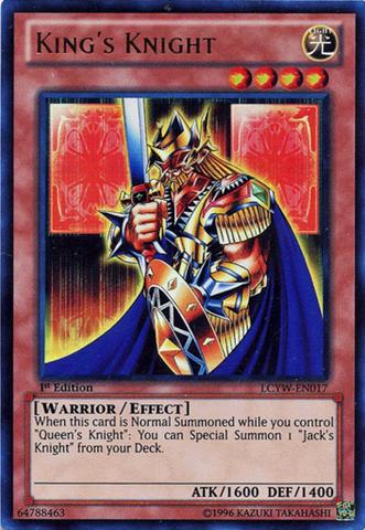 Kings Knight - LCYW-EN017 - Ultra Rare - 1st Edition