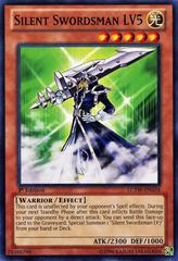 Silent Swordsman LV5 - LCYW-EN034 - Common - 1st Edition