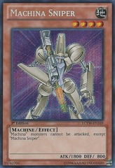 Machina Sniper - LCYW-EN169 - Secret Rare - 1st Edition