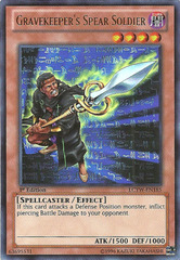 Gravekeeper's Spear Soldier - LCYW-EN185 - Ultra Rare - 1st Edition
